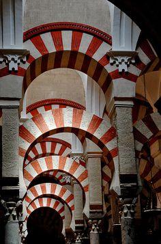 La Mezquita, Cordoba Spain by PM Kelly.
