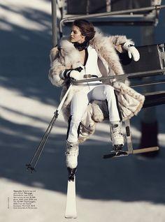 emily didonato benny horne11 Emily DiDonato Hits the Slopes for Vogue Australia Shoot by Benny Horne