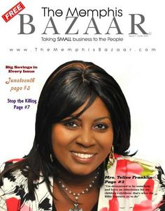 Carla McClure My favorite small business is the new Memphis Bazaar Small Biz Promotional Publication. #smallbizlove