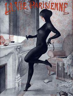 Illustration by Cheri Herouard For La Vie Parisienne 1920s