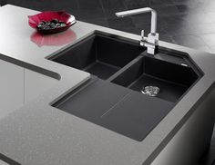 18 Photos Gallery of Save Your Space with Corner Kitchen Sinks Design