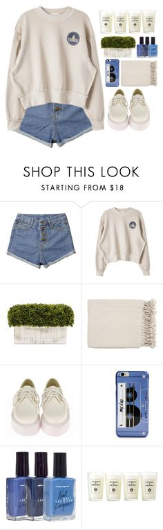 """""""Untitled #2236"""" by credendovides ❤ liked on Polyvore featuring Retrò, Kate Spade, American Apparel and Acqua di Parma"""