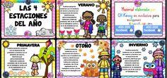 Rimas, retahílas y canciones para sortear juegos Weather Seasons, Sistema Solar, Education, Comics, Mayo, Board Ideas, Bulletin Board, Ideas Para, Montessori