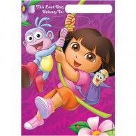 Send your little explorers home with a fun party pack! These Dora the Explorer Favor Bags will add a little adventure! These pink and purple bags feature Dora and the gang swinging into action. Each package contains 8 loot bags each. Black Friday Toy Deals, Costume Birthday Parties, Themed Parties, Lolly Bags, Kids Party Themes, Party Ideas, Theme Ideas, Dora The Explorer, Banners