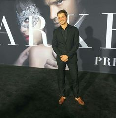50 Shades Darker LA premier 2-2-2017  Luke Grimes as Elliot Grey