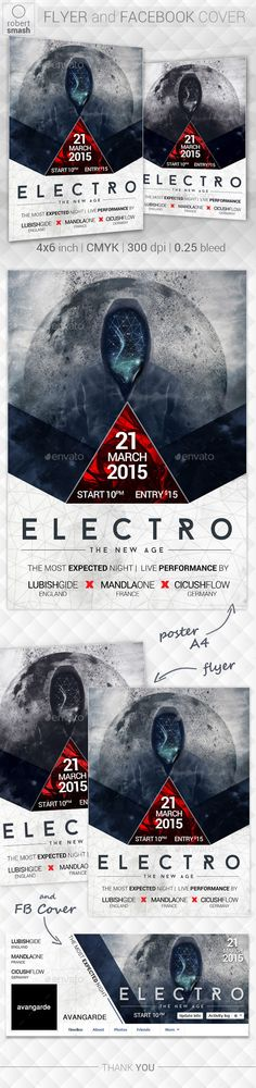 Electro New Age Flyer — Photoshop PSD #event #flyer • Available here → https://graphicriver.net/item/electro-new-age-flyer/10686061?ref=pxcr