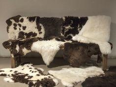 Schapenvacht Over Stoel : Lifa living schapenvacht novion novion wonen slapen