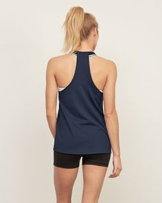 Womens Active T-back Tank | Womens Spring Preview | Abercrombie.com