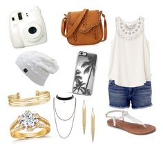 """""""Untitled #4"""" by nsommers15 on Polyvore featuring Fuji, Black Orchid, RVCA, Apt. 9, Zero Gravity, Stella & Dot and Annello"""