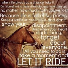 Let it ride#Repin By:Pinterest++ for iPad#