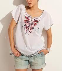Resultado de imagen para blusas bordadas oaxaqueñas en Pinterest