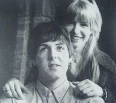 Paul McCartney & Jane Asher.