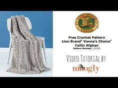 How to Crochet the Lion Brand Celtic Afghan - Lion Brand Notebook