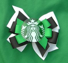 Starbucks Hair Bow @Blondie  ruiz, lol!!!