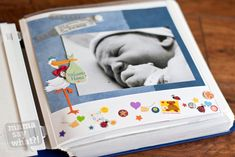 real ideas, real advice, from real mamas Diy Calendar, Calendar Pages, Baby Record Book, Baby Records, Baby Memories, Recorded Books, Memory Books, Diy Baby, Scrapbooking Layouts