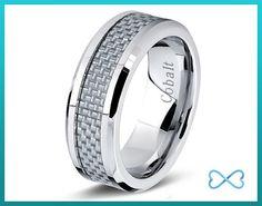 Cobalt Wedding Band Mens Wedding BandsMens by infinitebands
