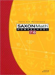 Saxon Math 7/6 Homeschool: Testing Book 4th Edition / Edition 1 by Houghton Mifflin Harcourt, John Saxon Download