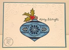 Christmas Bauble Marina Mist