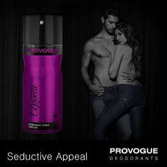 With its enticing fragrance, Provogue's Seductive Appeal is made for the urban man who oozes charisma! Pick up your new best friend at your nearest Provogue Store.