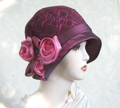 Womens Handmade Vintage Reproduction Designer Fashion Hat
