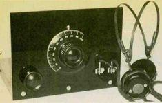 1980 recreation of 1920's regenerative receiver.