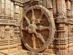 Дхармачакра («колесо дхармы», «колесо закона») - символ дхармы, учения Будды о пути к просветлению, освобождению от кармических перерождений в сансаре. Традиционно изображается в виде стилизованного колеса с пятью, шестью или восемью спицами