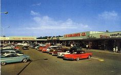 Shopping mall 1958