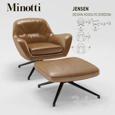 Minotti Jensen Armchair