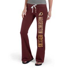 Womens Washington Redskins '47 Brand Burgundy Pep Rally Pants