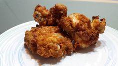 Pollo a la sureña o kentucky fried chicken
