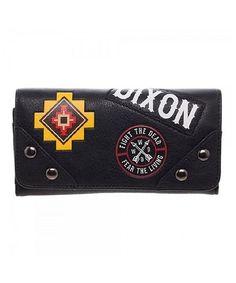 The Walking Dead Walking Dead Flap-Fold Wallet   zulily