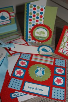 Great cards for kids including a never ending card