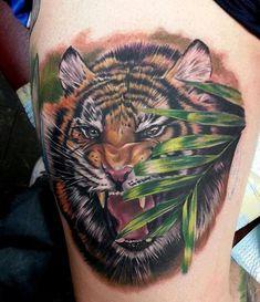 Tiger Tattoo - 55 Awesome Tiger Tattoo Designs