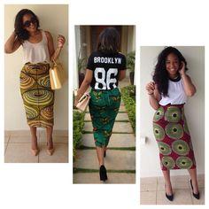 Ankara Skirts for Seamstress - #1 Nigeria Style Blog
