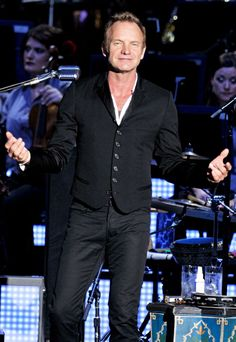 Sting ~ a talented storyteller be it with words or music.