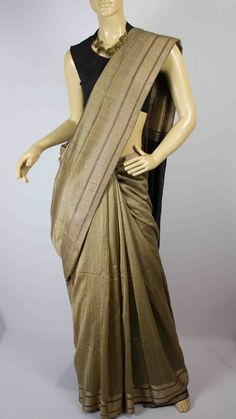 #Handwoven #cotton #saree #India #crafts #weaving