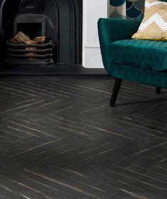 Dartrey™ Black Wood Effect Tile | Topps Tiles