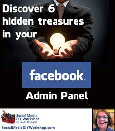 Discover 6 hidden features in your Facebook admin panel that will help you work more effectively, reach your audience more efficiently, and feel more confident about your Facebook business page. #Facebook