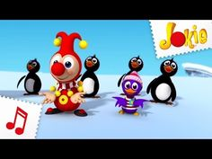 De pinguïndans - Jokie Muziekclip - Efteling - YouTube School, Creative, Projects, Kids, Youtube Youtube, Antarctica, Om, Drama, Challenge