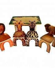 Find This Pin And More On Childrens Furniture. Anatex Safari Table U0026 Animal  Chairs Get Ready For ...