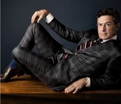 Stephen Colbert in Vanity Fair