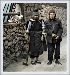 Elderly Couple from Yunnan Province, China