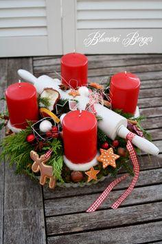 ::::+Adventskranz+Nudelholz+::::+von+::::::::+Blumerei+Berger+::::::::+auf+DaWanda.com