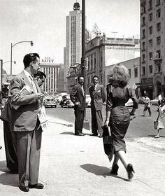 Ciudad de México en los 50s. Nacho López