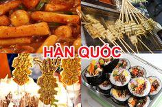 Những món ăn vặt Hàn Quốc hấp dẫn không thể bỏ qua The Bo