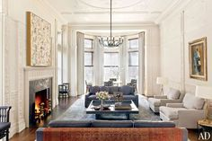 Dell Mitchell Architects - Back Bay Townhouse Sitting Room