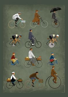 P Is For Peloton: The A-Z Of Cycling.>>>Thanks to X?X for sharing this pin. MAKETRAX.net - Bicycle ART