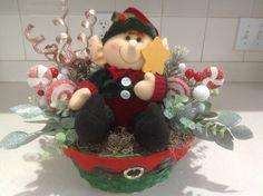 Elf Christmas table centerpiece Christmas Centerpiece | Etsy Etsy Christmas, Christmas Items, Christmas Ornaments, Christmas Table Centerpieces, Holiday Decor, Unique Jewelry, Handmade Gifts, Vintage, Home Decor