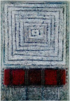 D-3.Jul.1998mixed media painting on self made paper 130x90cm林孝彦 HAYASHI Takahiko 1998                                                                                                                                                                                 もっと見る