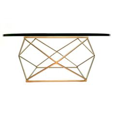 Geometric Coffee Table by Milo Baughman | From a unique collection of antique and modern coffee and cocktail tables at https://www.1stdibs.com/furniture/tables/coffee-tables-cocktail-tables/